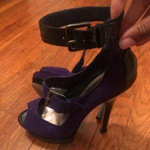 Sexy peep-toe platform heels